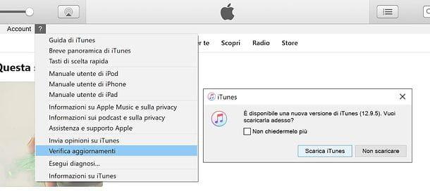Come aggiornare iTunes | Salvatore Aranzulla