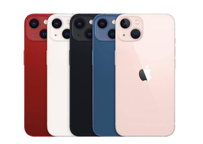 Ecco tutti i colori di iPhone 13